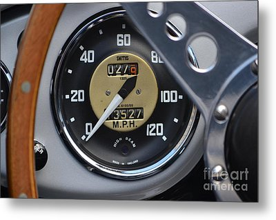 California Mille Metal Print by Dean Ferreira