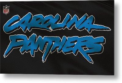 Carolina Panthers Uniform Metal Print