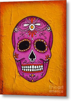 Day Of The Dead Metal Print