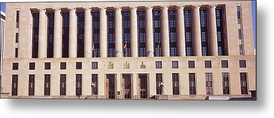 Facade Of A Government Building Metal Print by Panoramic Images