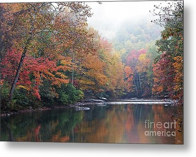 Fall Color Williams River Metal Print by Thomas R Fletcher