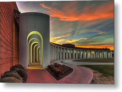 Ferguson Center For The Arts Metal Print