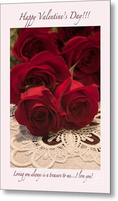 Happy Valentine's Day #3 Metal Print