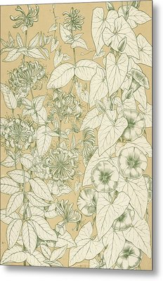Leaves From Nature Metal Print by English School