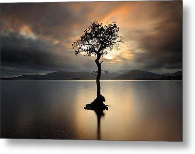 Loch Lomond Sunset Metal Print by Grant Glendinning