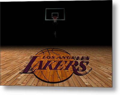 Los Angeles Lakers Metal Print by Joe Hamilton