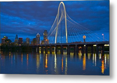 Margaret Hunt Hill Bridge Metal Print