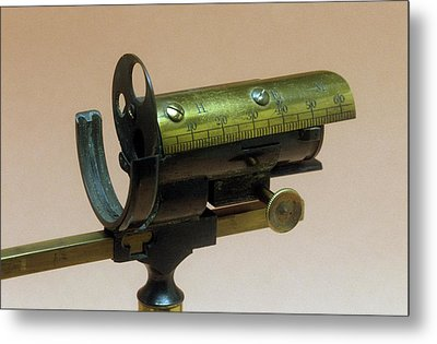Model Eye For Ophthalmology Metal Print