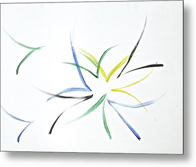 Metal Print featuring the painting Simplicity by Tracey Myers