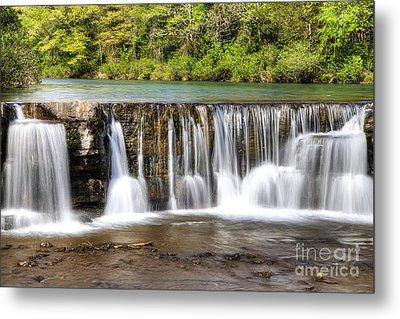 Natural Dam Falls Metal Print by Twenty Two North Photography