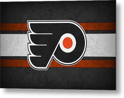 Philadelphia Flyers Metal Print by Joe Hamilton