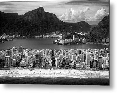Rio De Janeiro City Metal Print