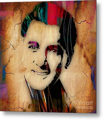 Rock Hudson Collection Metal Print by Marvin Blaine