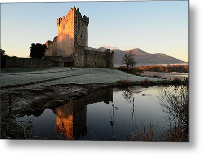 Ross Castle Metal Print by Barbara Walsh