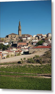 Spain, La Rioja Region, La Rioja Metal Print by Walter Bibikow