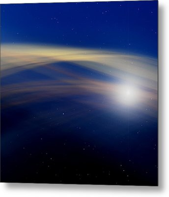 Stardust Metal Print by Laura Fasulo