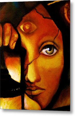 The Seeker Metal Print by Dalgis Edelson