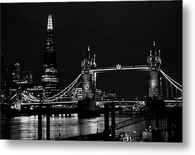The Shard And Tower Bridge Metal Print