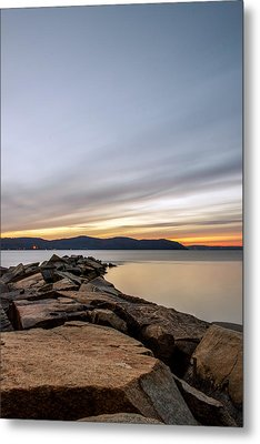 Metal Print featuring the photograph 60secs Of Light by Anthony Fields