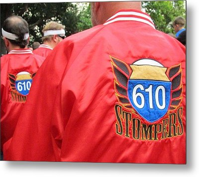 610 Stompers - New Orleans La Metal Print