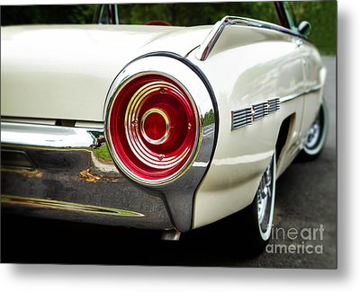 62 Thunderbird Tail Light Metal Print