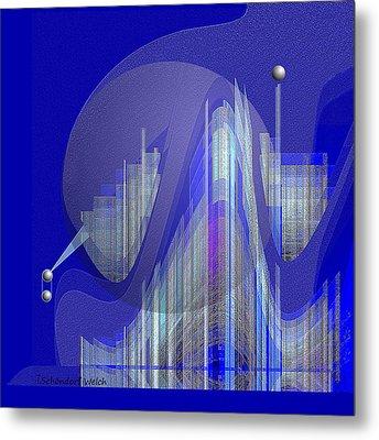 629 - City Of Future 5 .... Metal Print
