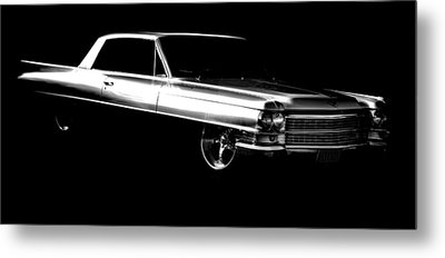 63 Coupe De Ville Metal Print by motography aka Phil Clark