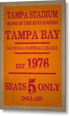 Tampa Bay Buccaneers Metal Print