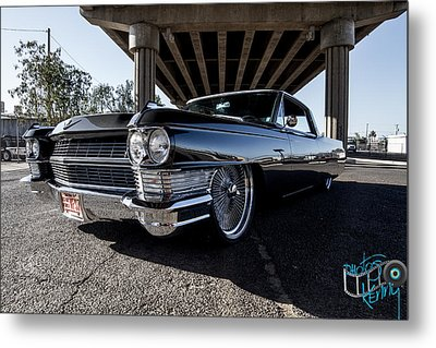 64 Cadi Metal Print by Kenny Jalet