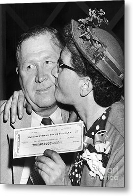 64000 Dollar Question 1955 Metal Print by Granger