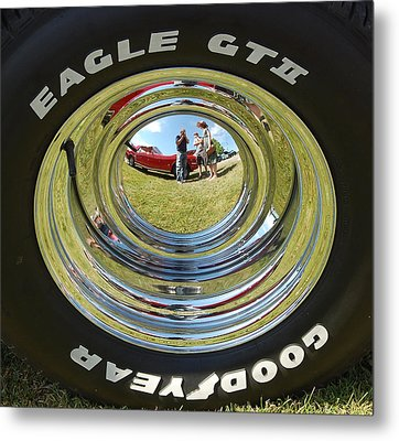 65 Mustang Metal Print