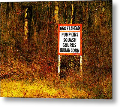 Metal Print featuring the digital art 650 Ft. Ahead by David Blank