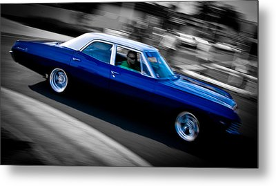 67 Chev Impala Metal Print by Phil 'motography' Clark