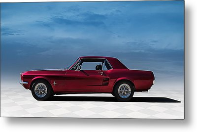 67 Mustang Metal Print by Douglas Pittman