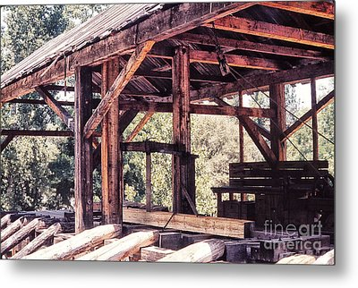 676 Sl Sutters Mill 4 Metal Print by Chris Berry