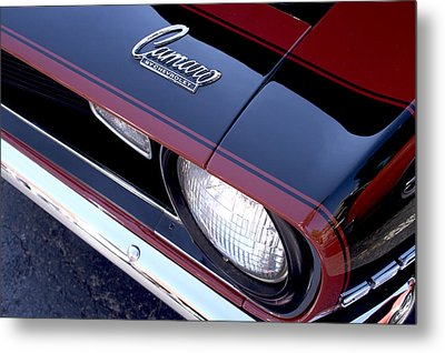 '68 Camaro Metal Print by Mike Maher