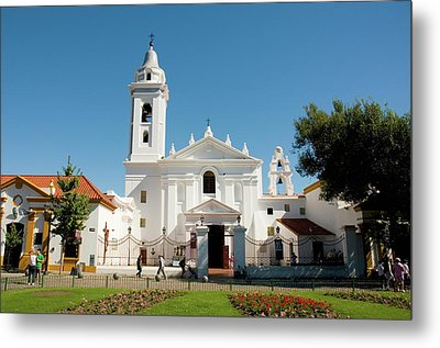 Argentina Buenos Aires Recoleta Metal Print by Inger Hogstrom