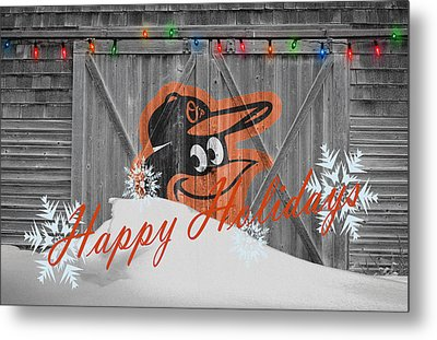 Baltimore Orioles Metal Print