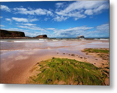 Bass Rock Metal Print by Keith Thorburn LRPS