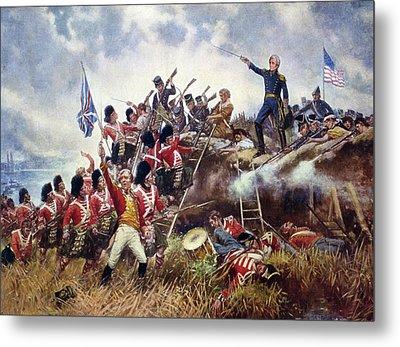 Battle Of New Orleans, 1815 Metal Print