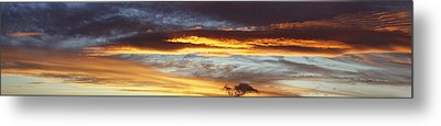 Bright Sky Metal Print by Les Cunliffe