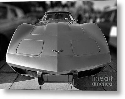Chevrolet Corvette Metal Print by George Atsametakis