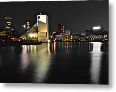 Cleveland Ohio Metal Print by Frozen in Time Fine Art Photography