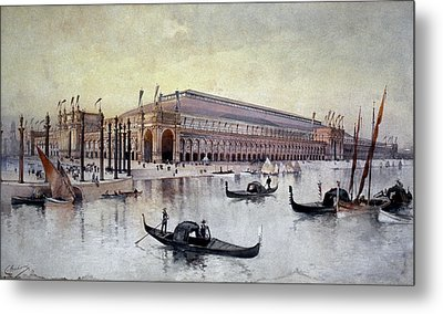 Columbian Exposition, 1893 Metal Print by Granger