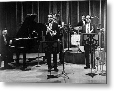 Dizzy Gillespie (1917-1993) Metal Print