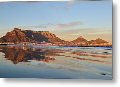 Good Morning Cape Town Metal Print