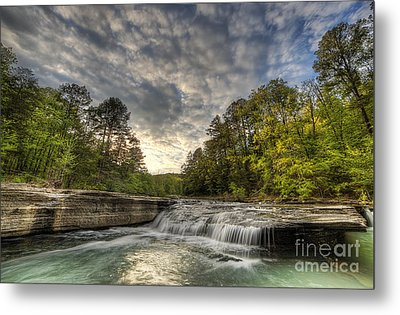 Haw Creek Falls Metal Print by Twenty Two North Photography