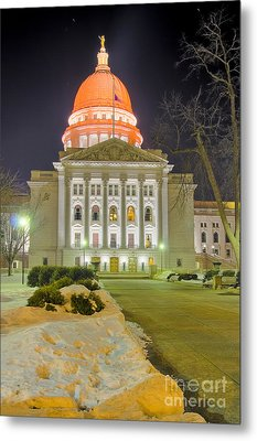 Madison Capitol Metal Print by Steven Ralser