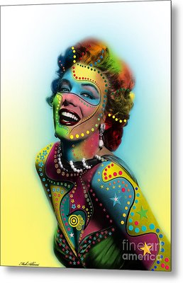 Marilyn Monroe Metal Print by Mark Ashkenazi