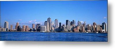 Nyc, New York City New York State, Usa Metal Print